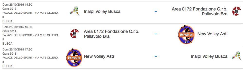 Calendario Fipav.Calendario Gare Fipav U13 Asd New Volley 0141 Asti